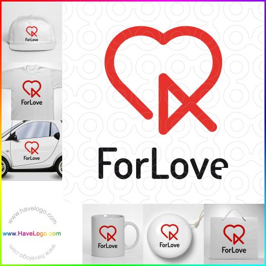 romantic logo - ID:55200