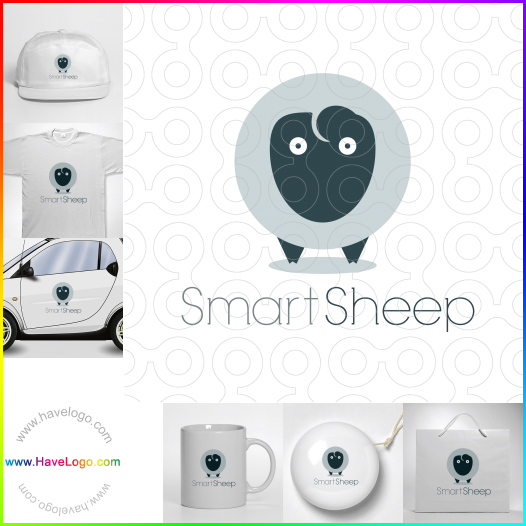 sheep logo - ID:53094