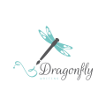 Dragonfly Writing  logo