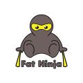 Fat Ninja  logo