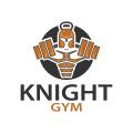 Knight Gym  logo