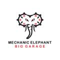 機械大象Logo