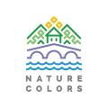 自然的顏色Logo