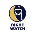 夜間觀察Logo