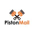 活塞的郵件Logo