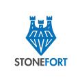 石砲台Logo
