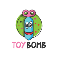 玩具炸彈Logo