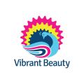 充滿活力的美Logo