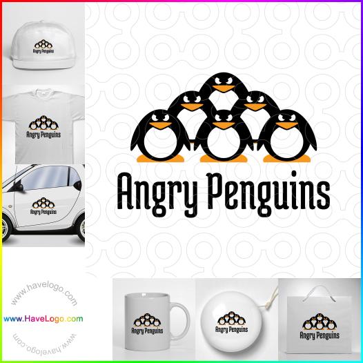 企鵝logo設計 - ID:35298