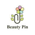 beauty pin  logo