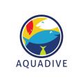 Aqua Dive  logo