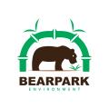 熊公園Logo