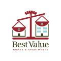 最有價值的住宅和公寓Logo