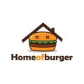 Home of burger  logo