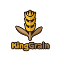 King Grain  logo