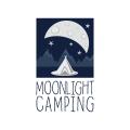 月光露營Logo
