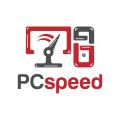 電腦的速度Logo