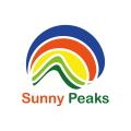логотип для Солнечные пики бесплатно