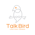 談鳥Logo