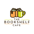 The Bookshelf Cafe  logo