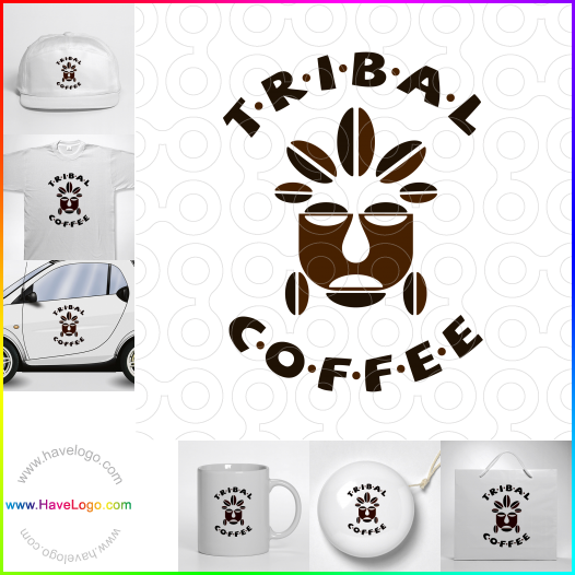咖啡豆logo - ID:59432