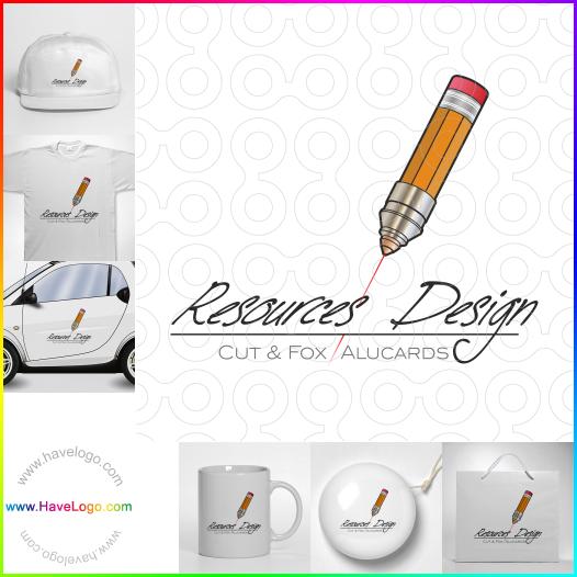 鉛筆logo設計 - ID:17705