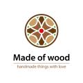 銷售的木制家具Logo