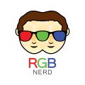 RGB的書呆子Logo