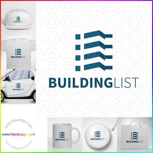 建築列表logo設計 - ID:65572