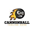 砲彈Logo