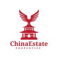 中國地產Logo