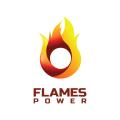 火焰的力量Logo