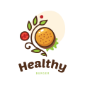 Healthy Burger  logo