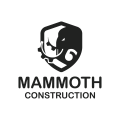 Mammoth Construction  logo