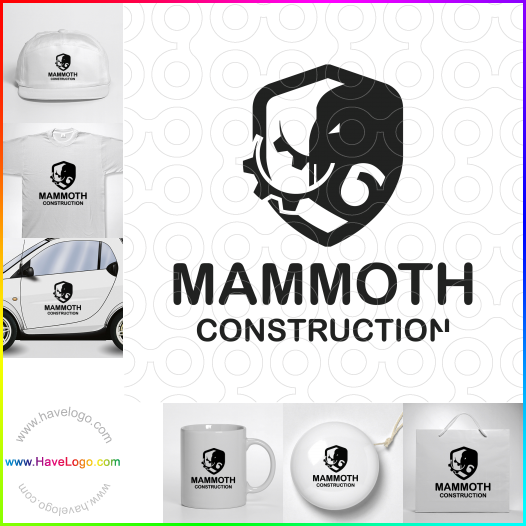 Mammoth Construction  logo - ID:65472