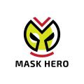 面具的英雄Logo