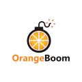 Orange Boom  logo