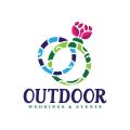 Outdoor Weddings  logo