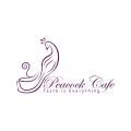 孔雀咖啡Logo