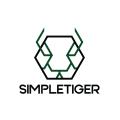 Simple Tiger  logo