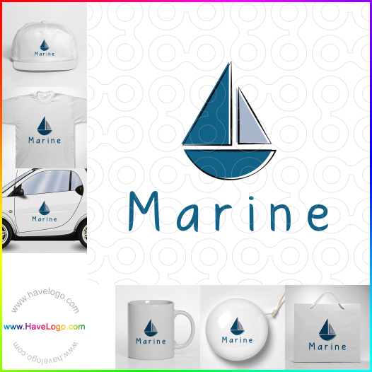 船logo設計 - ID:35208