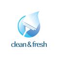 潔淨清新Logo