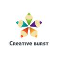 Creative burst  logo