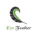 Eco Feather  logo