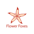 Flower Foxes  logo