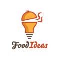 食物的想法Logo