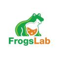 青蛙的實驗室Logo