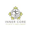 Inner Core Pilates  logo