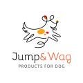 Jump & Wag  logo