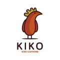 Kiko Kids Clothing  logo